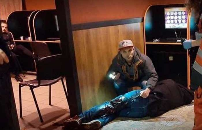 В столичном зале игровых автоматов подрезали посетителя