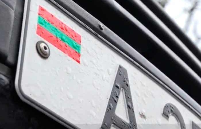 В Украину не будут пускать авто с приднестровскими номерами