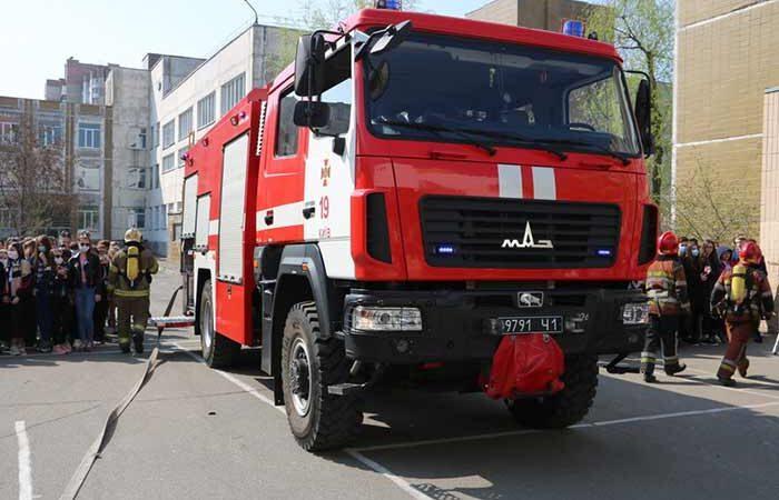 В Киеве на Троещине построят новое пожарное депо