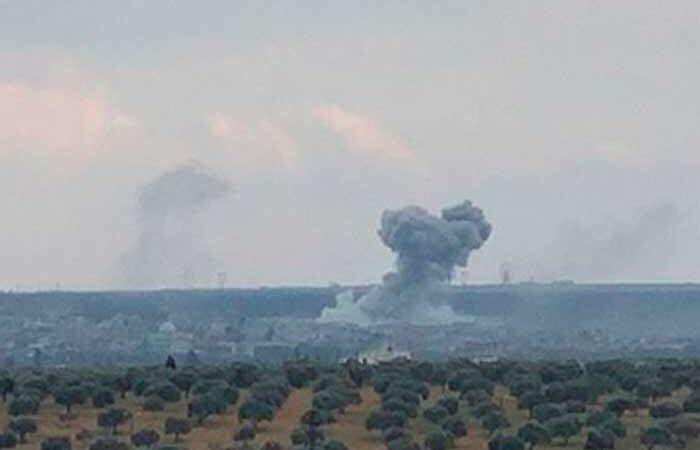 Турция разрушила военный аэродром в Сирии