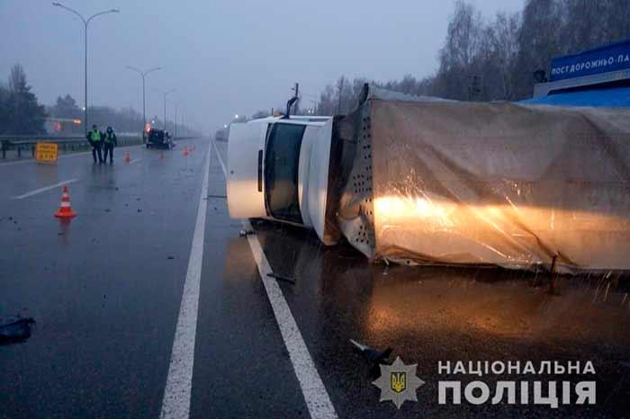 На Киевщине в результате дорожно-транспортного приключения пострадало семеро людей