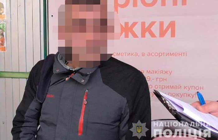 В Киеве полицейские задержали иностранца, который обворовал жителя черниговщины