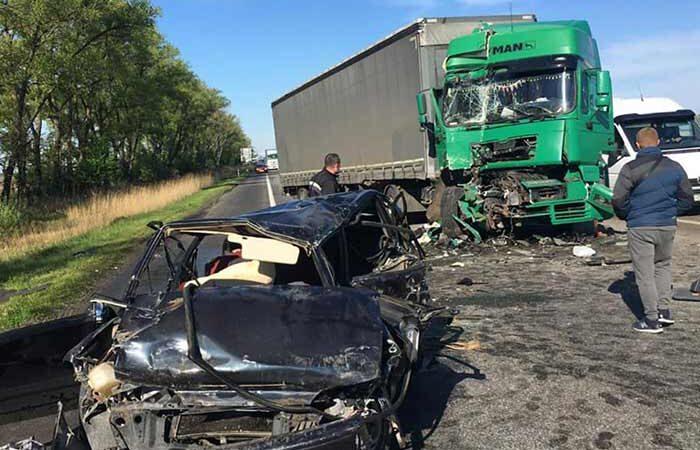 На трассе Киев — Чоп случилось семь ДТП, две из которых с потерпевшими