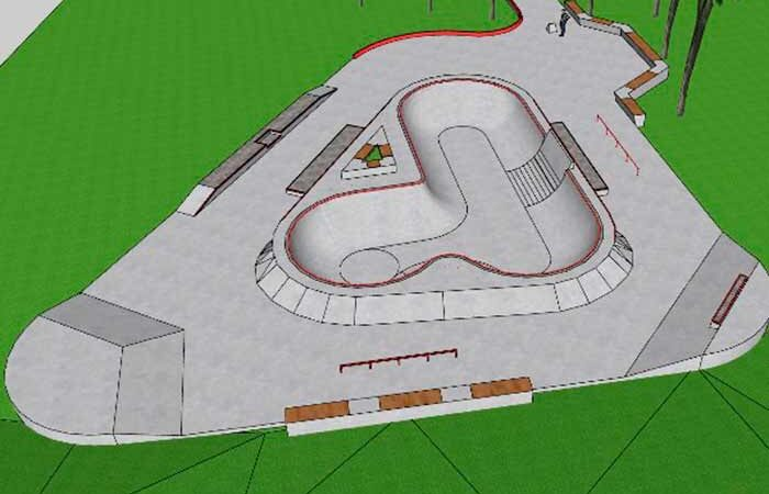 На озере Лебедином построят скейт-парк