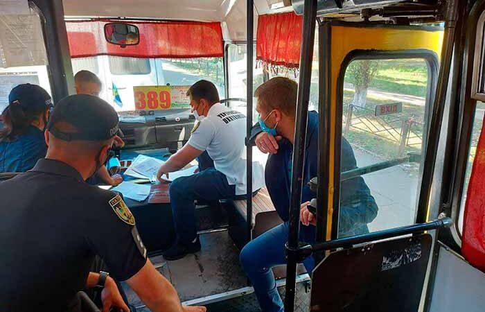 На Академгородке полиция устроила облаву на маршрутки