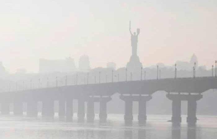 В Киеве определили районы с самым грязным воздухом