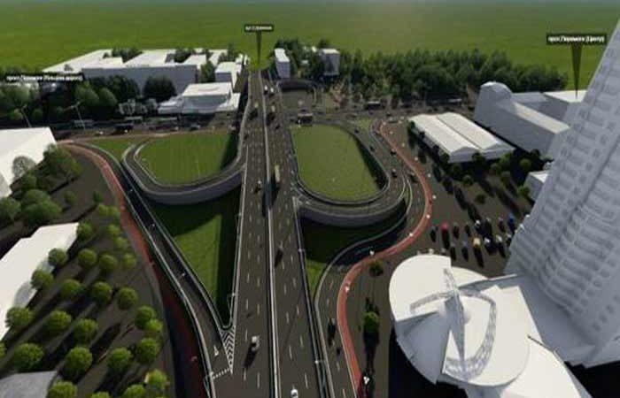 Шулявський мост строят круглосуточно