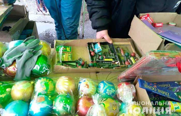 Полиция Киева предупреждает об опасности, которую могут представлять пиротехника и фейерверки