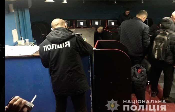 За сутки на Киевщине закрыли 17 игральных заведений