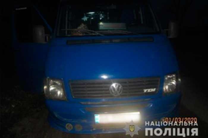 На Киевщине мужчина похитил маршрутку