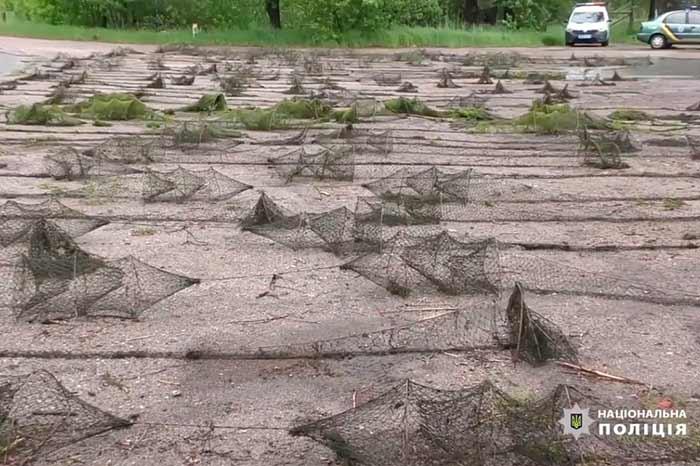 Под Киевом нашли 3 км браконьерских ловушек с раками