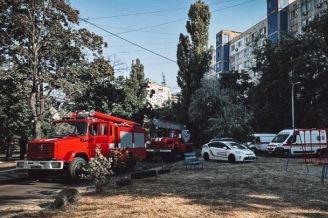 В Киеве произошел пожар в многоэтажке: погибла женщина