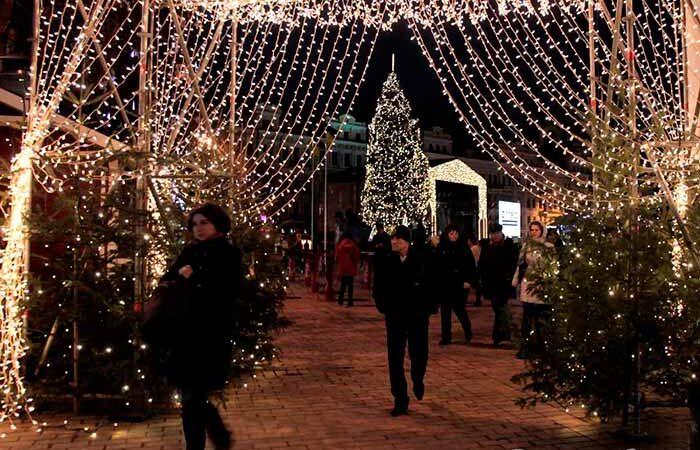 Яркий маршрут между тремя елками: в Киеве объявили программу новогодних праздников