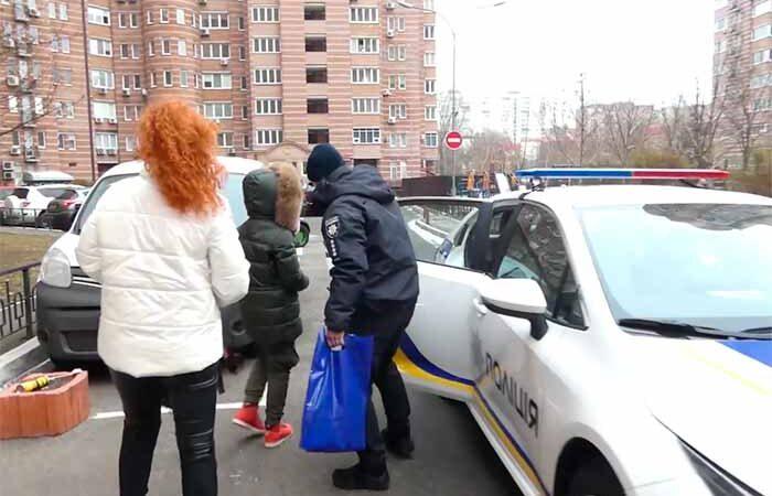 Полицейские Киева осуществили мечту 11-летнего мальчика