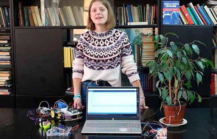 Киевская школьница разработала уникальную систему для электронного билета