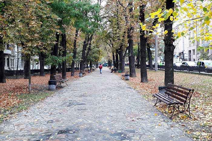 В Киеве создадут аллею выдающихся деятелей мира