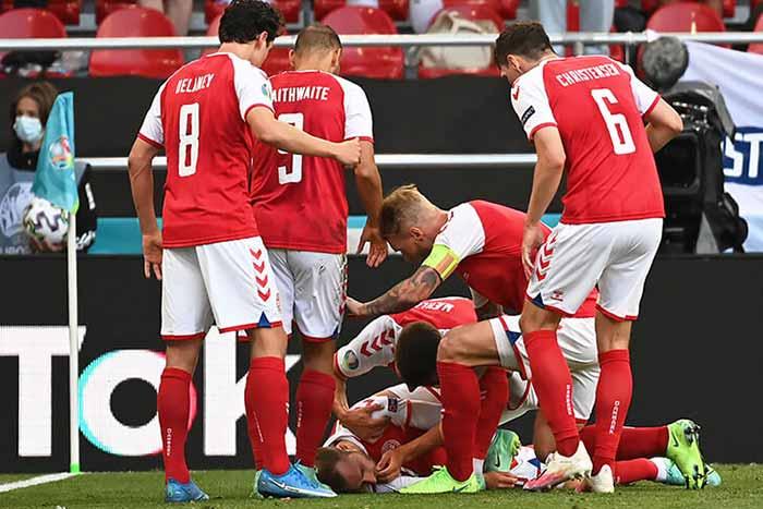 Третий матч Евро едва не завершился трагедией