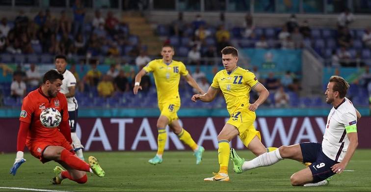 Англия открыла счет в матче против сборной Украины уже на 4-й минуте: видео гола Кейна
