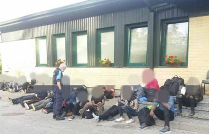Мигранты на границе с Беларусью. Литовские пограничники применили оружие