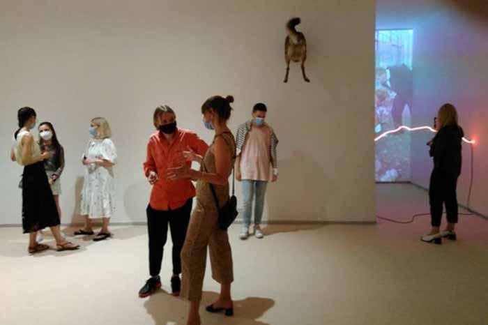 В киевском PinchukArtCentre открылась выставка украинского художника Николая Карабиновича