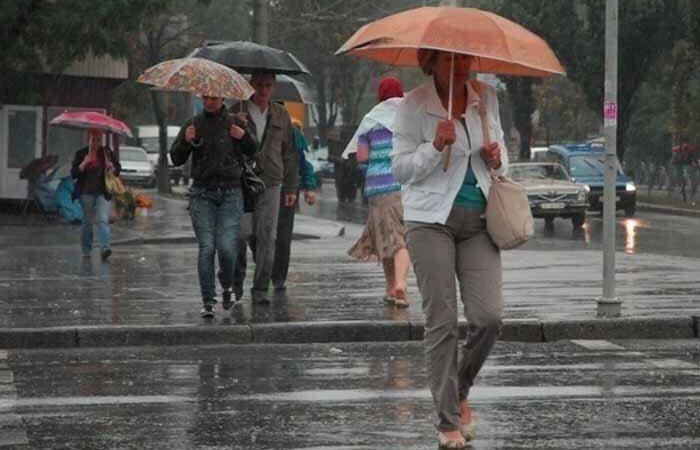 В Киев на всю неделю придут дожди с грозами